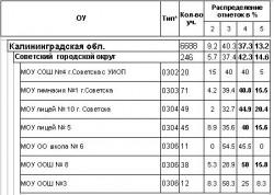 мониторинг 5 класс, русский язык, 2010