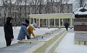 Возложение цветов к мемориалу «Танк»
